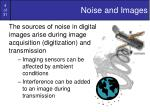 noise and images