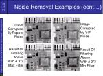 noise removal examples cont34
