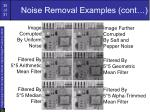 noise removal examples cont35
