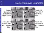 noise removal examples33