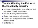 trends affecting the future of the hospitality industry14