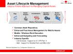 asset lifecycle management adopt a holistic approach to managing capital assets
