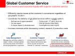 global customer service drive revenue and customer loyalty with superior customer service
