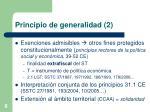principio de generalidad 2