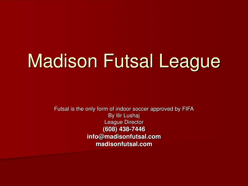 madison futsal league l.
