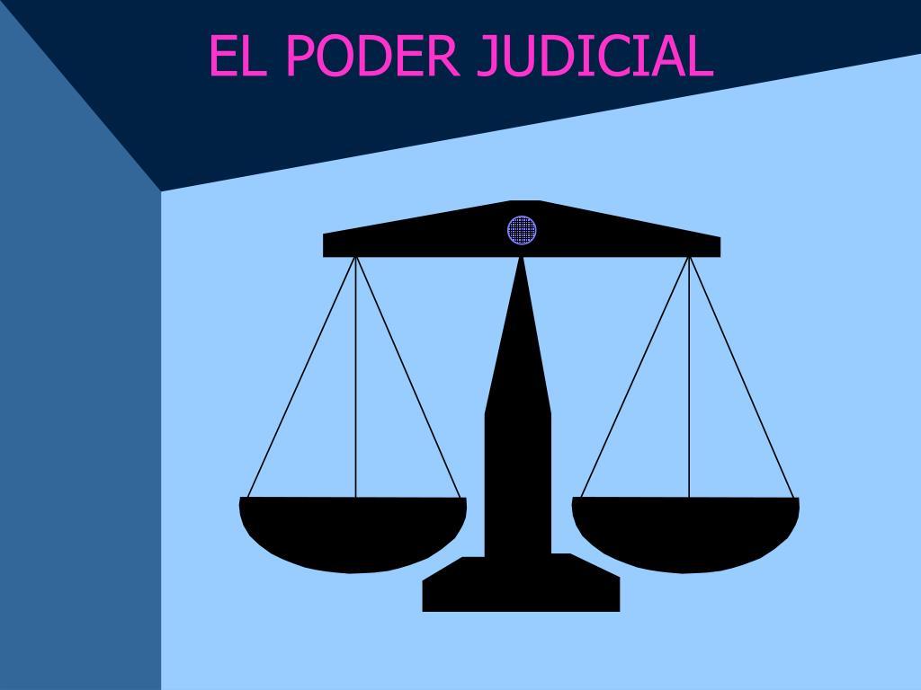 el poder judicial l.