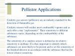 pellistor applications
