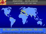 endorse worldwide lancet 2008 371 387 394