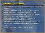 automatrix system