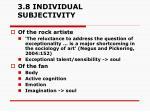 3 8 individual subjectivity