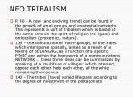 neo tribalism11