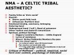 nma a celtic tribal aesthetic