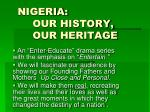 nigeria our history our heritage8