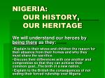 nigeria our history our heritage9