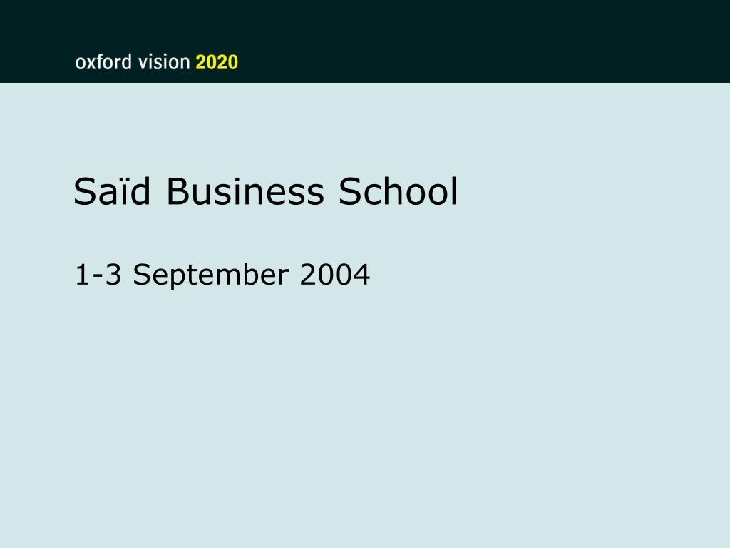 sa d business school l.