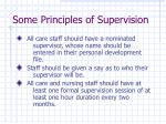 some principles of supervision19