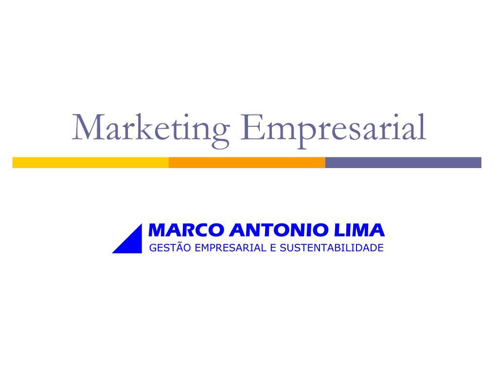 marketing empresarial l.