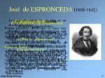 jos de espronceda 1808 1842