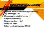 optimal nutrition training