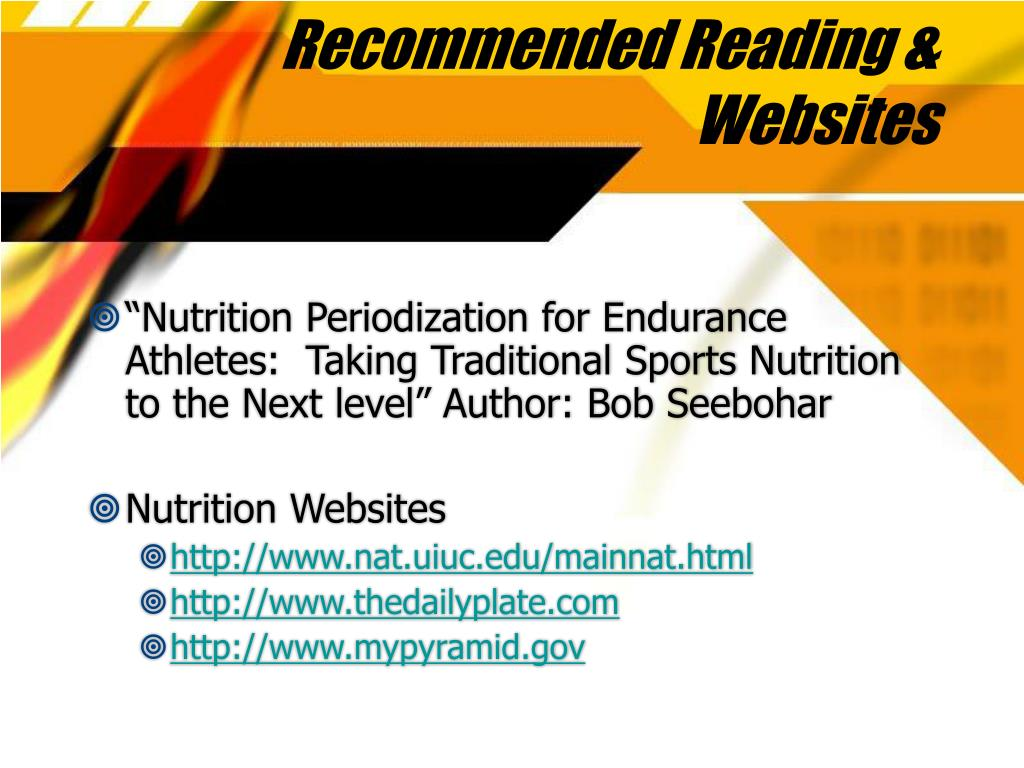 Recommended Reading & Websites