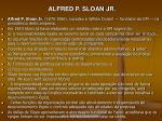 alfred p sloan jr