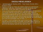 escola neocl ssica