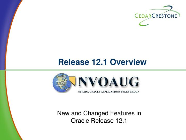 release 12 1 overview n.
