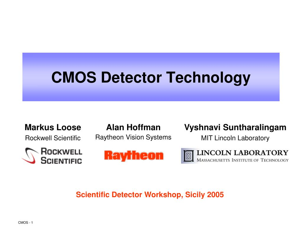 cmos detector technology l.
