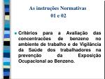 as instru es normativas 01 e 02