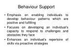 behaviour support10