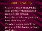 land capability43