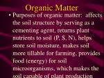 organic matter27