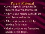 parent material15