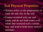soil physical properties32