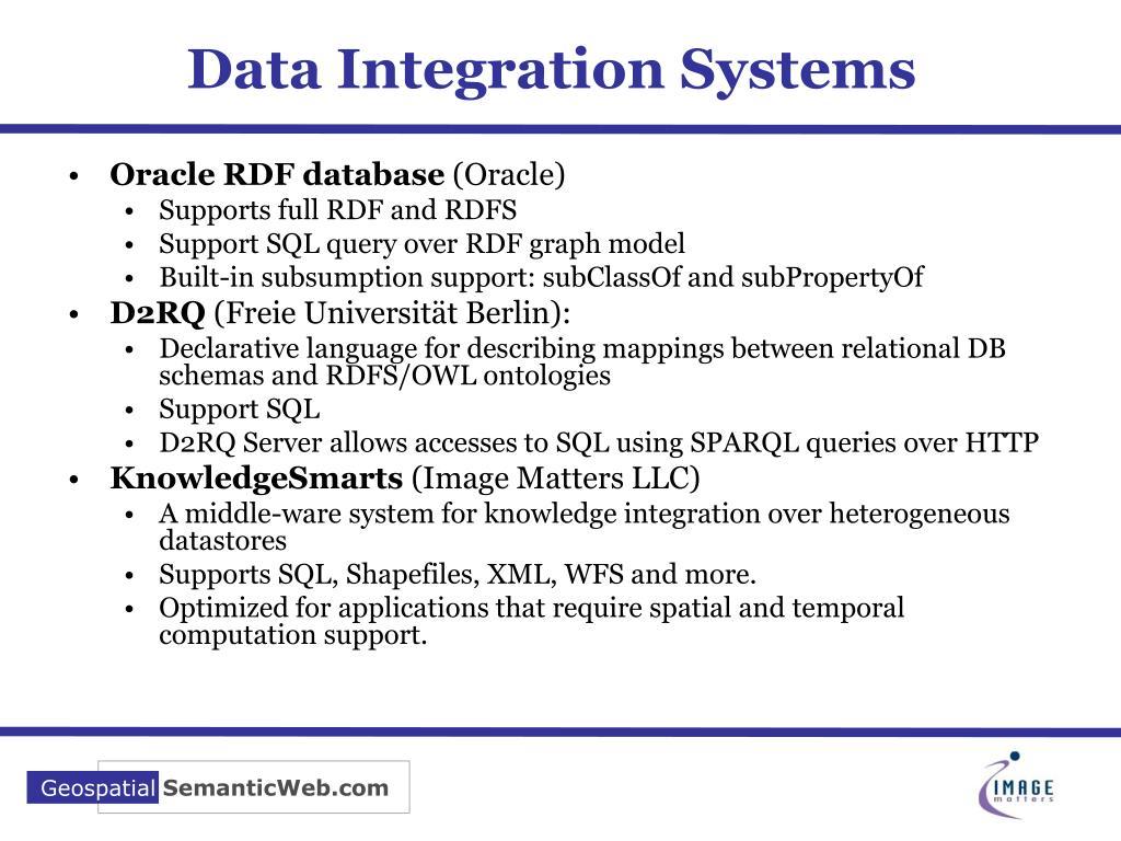 Data Integration Systems