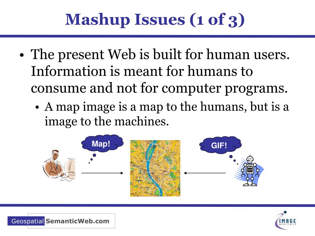 Mashup Issues (1 of 3)