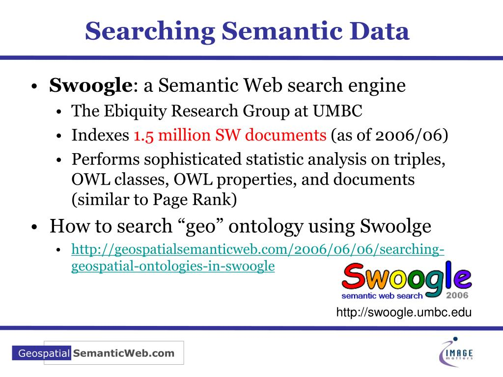 Searching Semantic Data