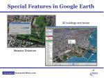 special features in google earth