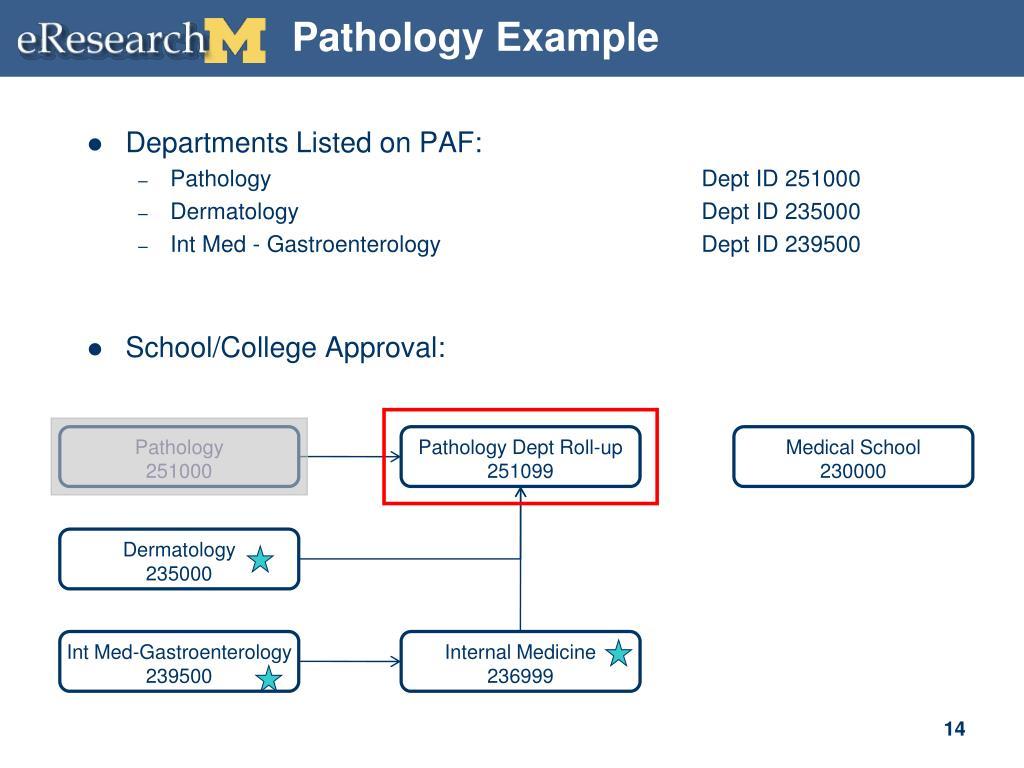 Pathology Example