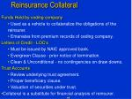 reinsurance collateral