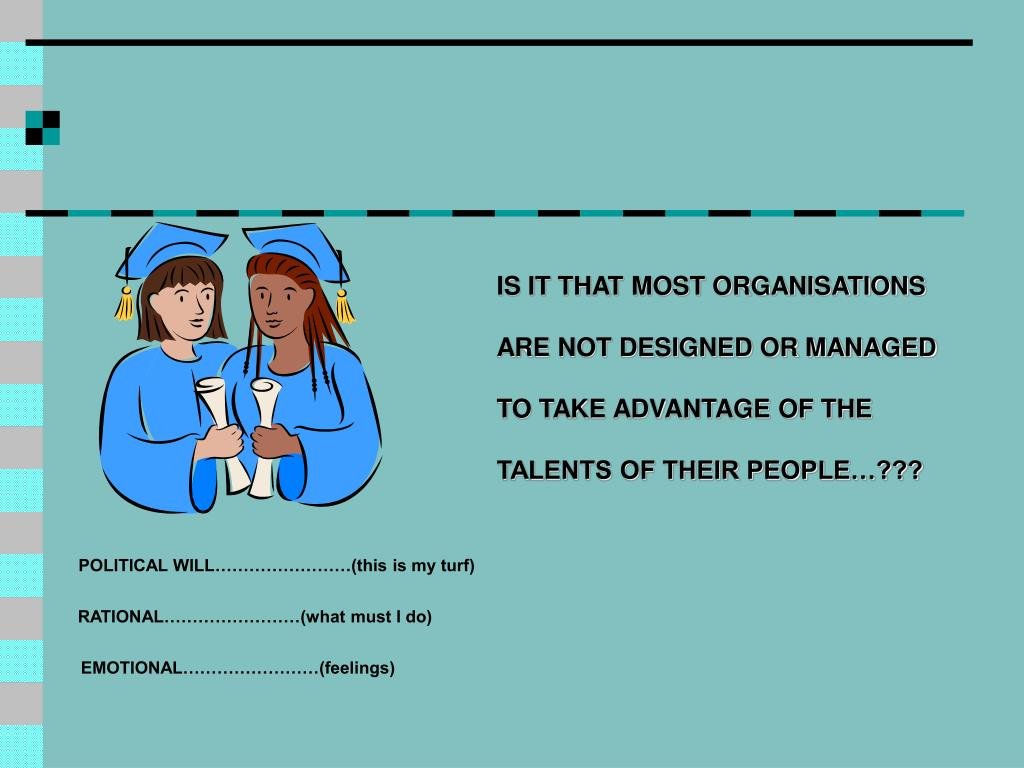 IS IT THAT MOST ORGANISATIONS