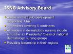 isng advisory board