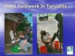isng fieldwork in tanzania