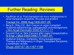 further reading reviews