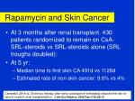 rapamycin and skin cancer26
