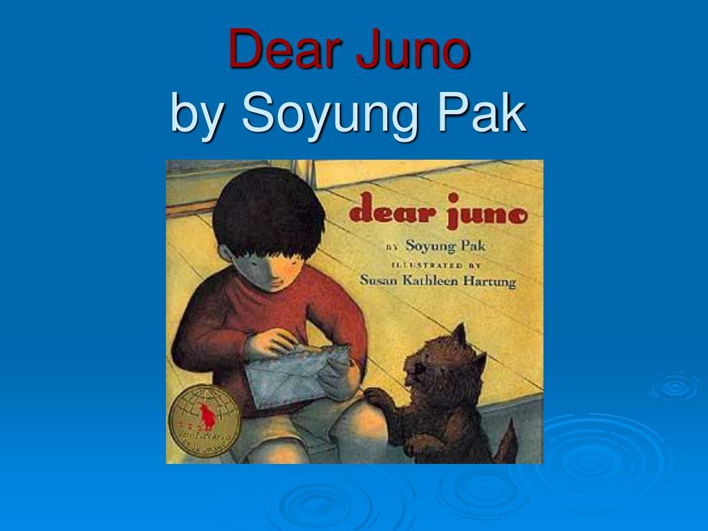 dear juno by soyung pak l.
