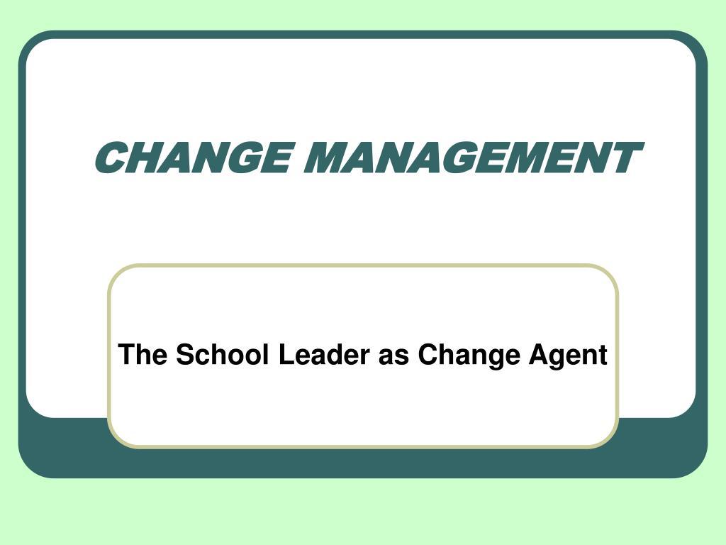 change management l.