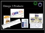 omega 3 products