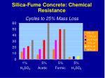 silica fume concrete chemical resistance37
