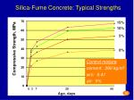silica fume concrete typical strengths6